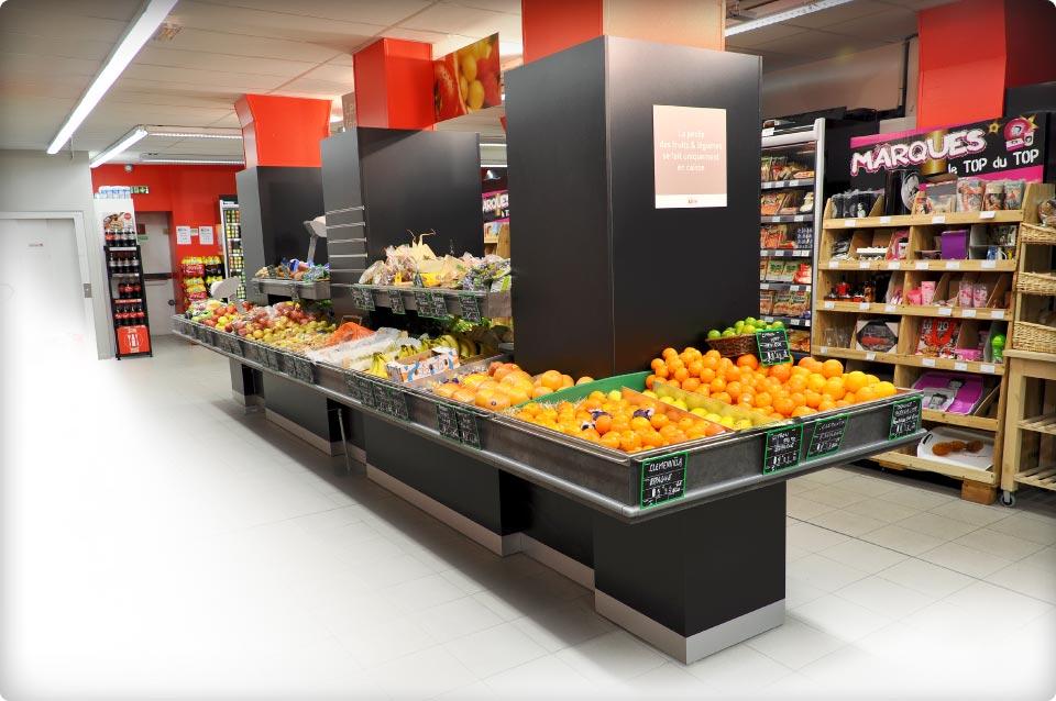 Le sur mesure par le spécialiste du fruits et légumes