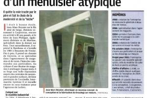 Jean-Marc REYNIER, menuisier atypique