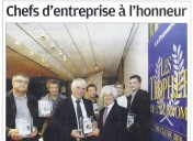 Chef d'entreprise à l'honneur