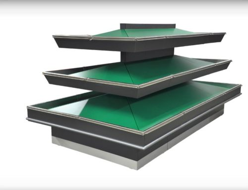 Ilot 3 niveaux tablettes FL-I3-TA