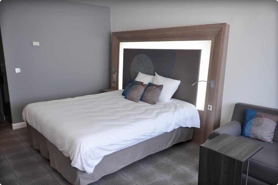 Mobilier de chambres Novotel