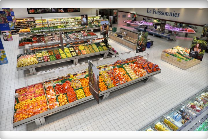 Une grande zone fruits et légumes pour le Centre Leclerc Carpentras