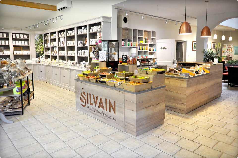 Agencement Nougaterie Silvain